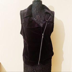 Juicy Couture Velour Black Vest (XL)